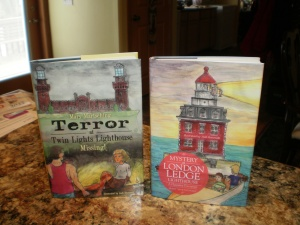 My two latest published books!