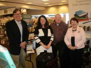 Authors Mac O'Shea, Sherry Hill, David W. Dorris, and Mary Martsching