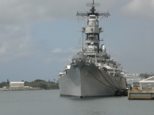 The USS Missouri - the Mighty MO