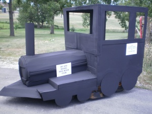 Model Railroad Club float